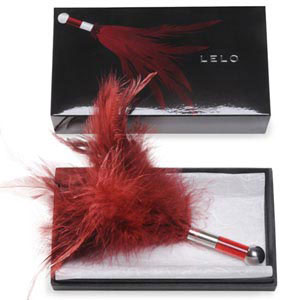 Tantra Feather Teaser - Red