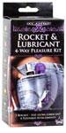 Rocket and Lubricant 4-way Pleasure Kit - Purple