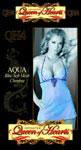 Aqua Blue Soft Mesh Chemise 2X-3X