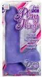 Pure Skin Play Things Dong w/Suction Cup - Purple