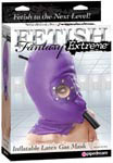 Fetish Fantasy Extreme Inflatable Latex Gas Mask