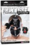 Fetish Fantasy Extreme Gag Binder Mask