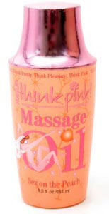 Think Pink! Massage Oil Sex On The Peach