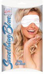 Something Blue Satin Eye Mask