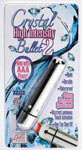 Crystal High Intensity Bullet 2 - Silver