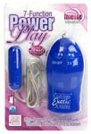 7-Function Power Play Slimline Bullet - Blue