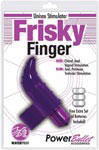 Frisky Finger Unisex Stimulator - Purple