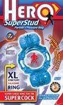 Hero Superstud Partner's Pleasure Ring - Blue
