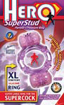Hero Superstud Partner's Pleasure Ring - Purple
