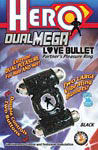 Hero Dual Mega Love Bullet - Black