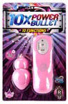 10x Power Bullet - Pink