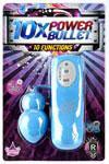 10x Power Bullet - Blue