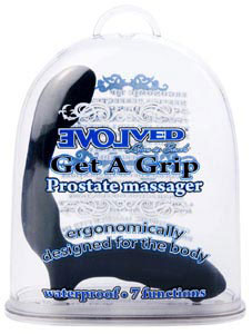 Get A Grip Prostate Massager - Black