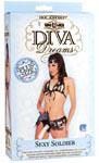 Vac-U-Lock Diva Dreams Sexy Soldier Plus Size
