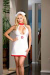 2 pc Bedroom Nurse Costume Queen