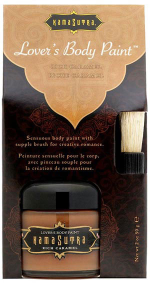Kama Sutra Lover's Body Paint- Caramel