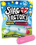 Shag Factory Love Missile 3 Speed Vibrating Bullet - Pink