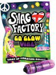 Shag Factory Love Light Vibrating Bullet - Purple