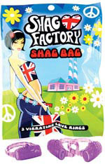 Shag Factory Shag Bag Vibrating Love Ring Pack of 3