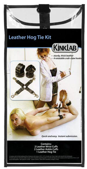 Kinklab Leather Hog Tie Kit