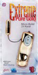 Extreme Pure Gold Micro Bullet - 24 Karat