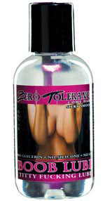 Zero Tolerance Boob Lube 2 Oz