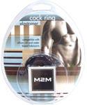 M2M Elastomer Cock Ring Large - Black
