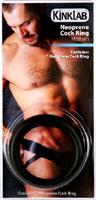 Kinklab Thin Neoprene Cock Ring - 1.75