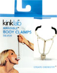 Kinklab Mandible Body Clamps - Silver