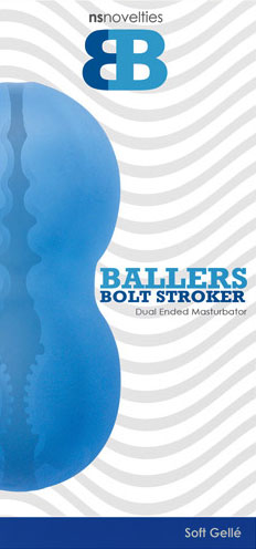 Ballers Halo Stroker - Aqua