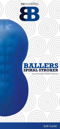 Ballers Halo Stroker - Blue
