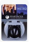 Elastomer Cock Ring - Metro Black