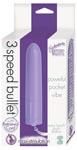 3 Speed Bullet w/Retieval Cord - Lavender