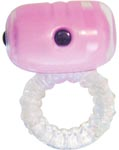 Eve Body Responsive Couples Ring - Pink / Clear