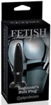 Limited Edition Fetish Fantasy Beginner's Butt Plug - Black