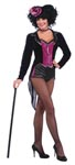 2 Pc Burlesque Show Stopper Tail Coat