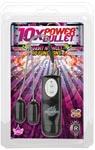 10x Dual Power Bullets Slim - Black