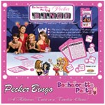 Bachelorette Party Pecker Bingo Game