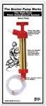 Boston Pump Works Brass Pump W/Out Cylinder