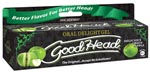 Good Head Oral Gel - 4 Oz Green Apple