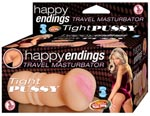 Happy Ending Travel Masturbator Tight Pussy - Flesh