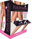 Pink Privates Intimate Area Lightening Cream 50 Pc Sampler Display