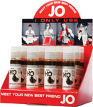 System JO H2o Flavored Lubricant 1 Oz Chocolate - Display Of 12