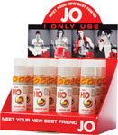 System JO H2o Flavored Lubricant 1 Oz Peach Display Of 12