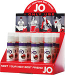 System JO H2o Flavored Lubricant 1 Oz Pomegranate Display Of 12