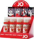 System JO H2o Flavored Lubricant 1 Oz Tangerine Display Of 12