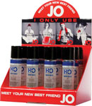 System JO H2o Lubricant - 1 Oz Display Of 12