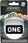 One Zero Thin Condoms - Box Of 3