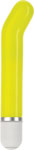 Glo 5in Gspot Vibrator - Yellow