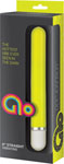 Glo 6in Straight Vibrator - Yellow